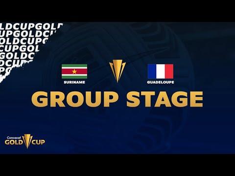 2021 Gold Cup | Suriname vs Guadeloupe