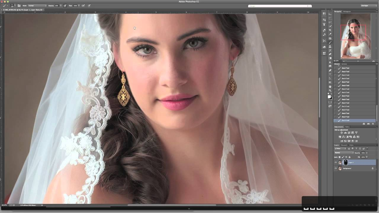 Quick Tip Portrait Retouching with Oil Paint Filter in Photoshop  YouTube