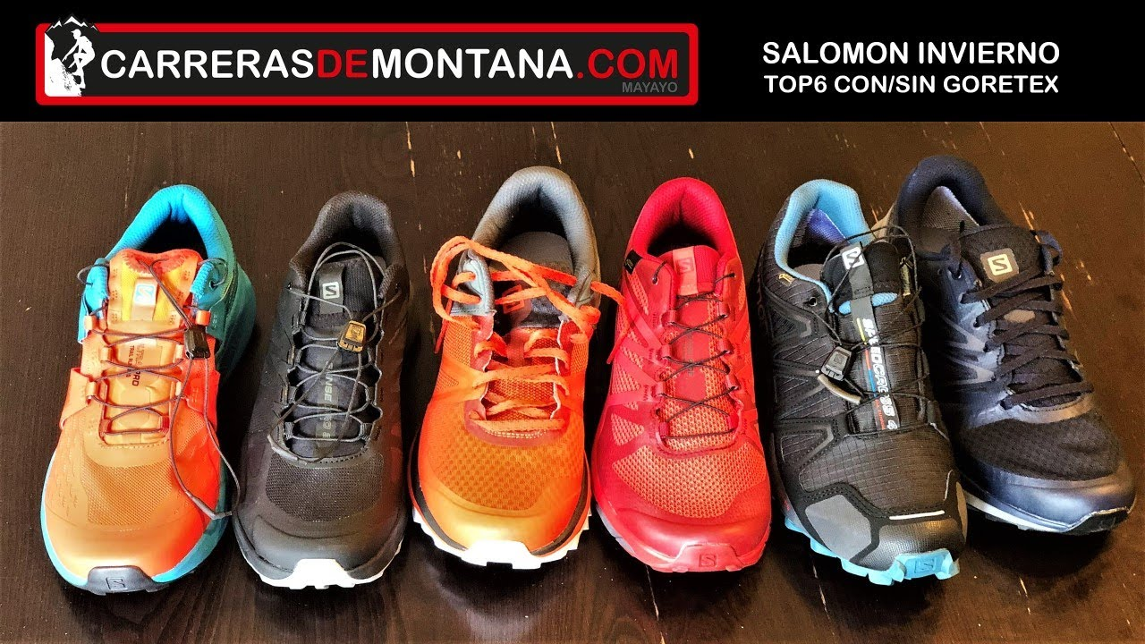 zapatillas salomon para trail running ni�o xs