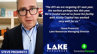 Investor Stream chats with: Lake Resources Managing Director Steve Promnitz (January 20, 2021)