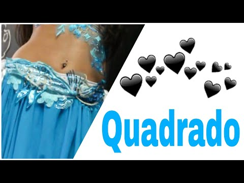 ✅ Tutorial Passo a Passo O Quadrado com o Quadril - Dança do Ventre Online Patrícia Cavalcante