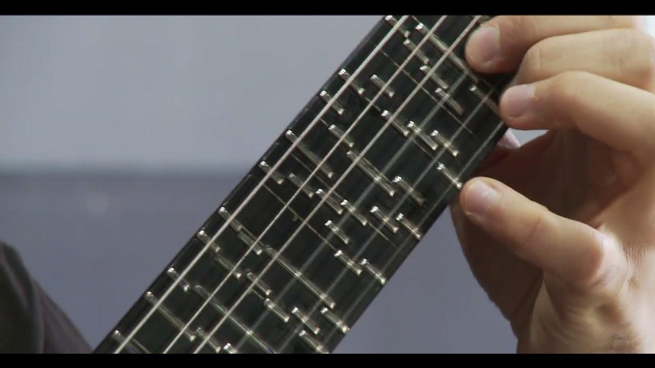 microtonal guitar fixed fret tolgahan o ulu youtube. Black Bedroom Furniture Sets. Home Design Ideas