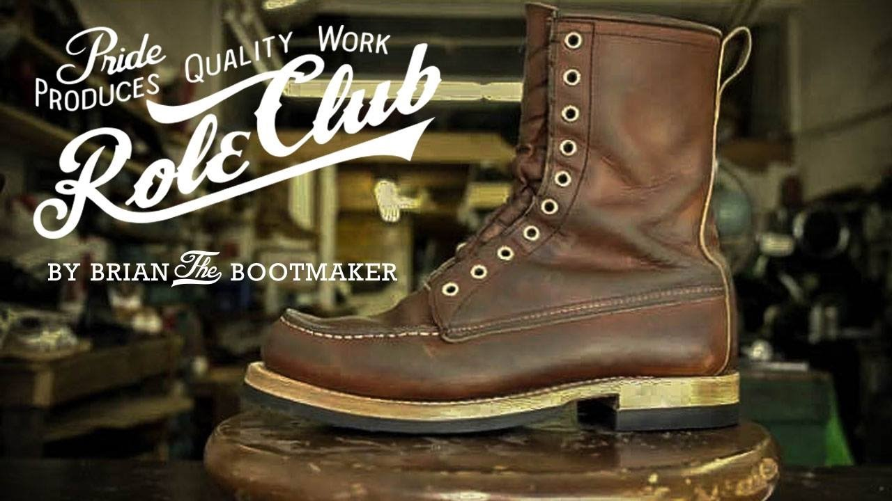 red wing moc toe 877 resole 26 youtube
