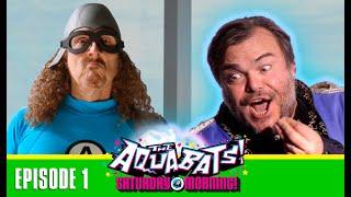 The Aquabats! Saturday Morning! - The Wizard of Hollywood! Jack Black & Weird Al Yankovic