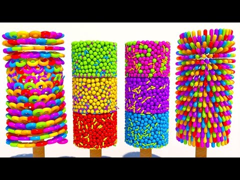 Thumbnail: Learning Colors with 3D Popsicle for Kids and Children