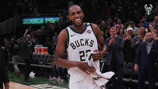 All-Access: Khris Middleton Drops Career High 51 Points On Wizards | Exclusive Post Game Tunnel Cam