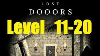 Lost DOOORS - escape game - level 11, 12, 13, 14, 15, 16, 17, 18, 19, 20