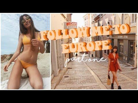 EUROPE VLOG 1 || Lyon, Toulouse, Mallorca, Barcelona
