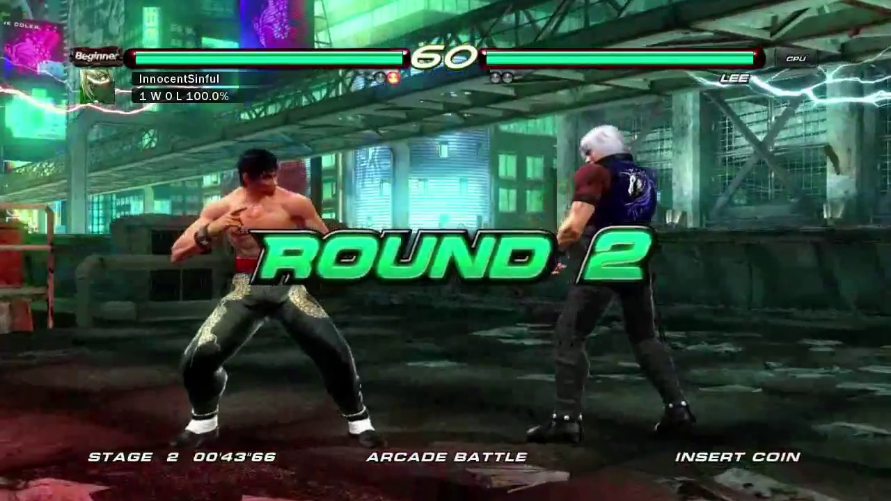 Tekken 6 Xbox 360 Arcade Battle As Law Youtube