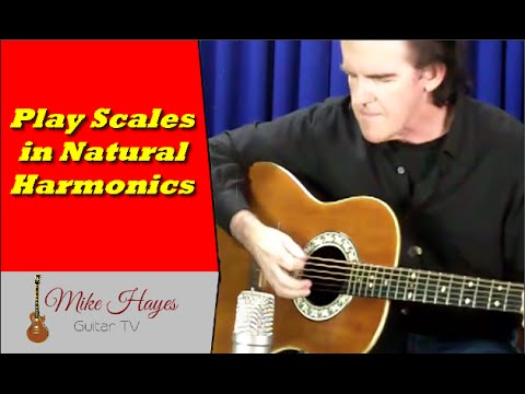 how to play harmonics on electric guitar