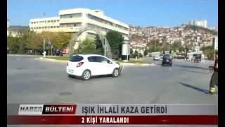 KOCAELİ TV -  IŞIK İHLALİ KAZA GETİRDİ