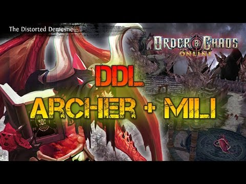 Order & Chaos Online - DDL - W/Archer + Military Monk