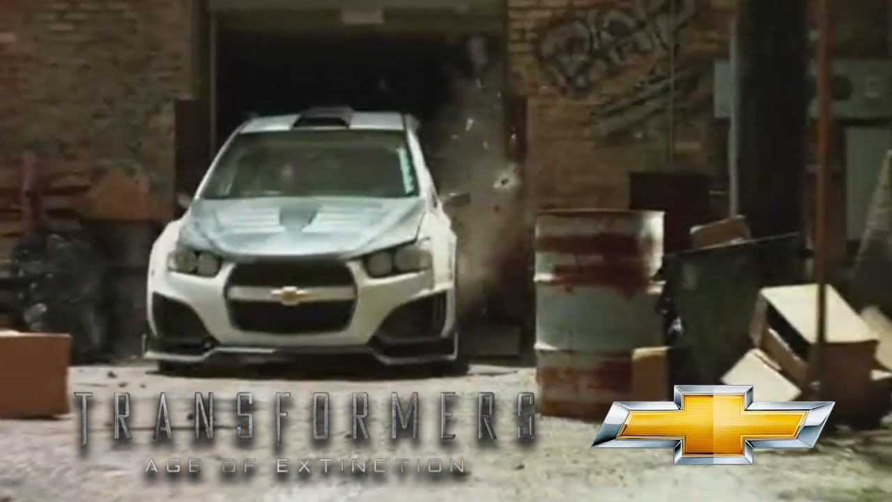 Transformers 4 Age Of Extinction Chevy Ad Youtube