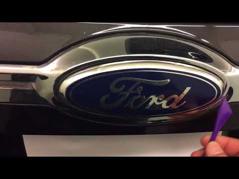 2011+ Ford Edge rear emblem removal