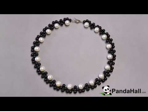 collier perle rocaille youtube
