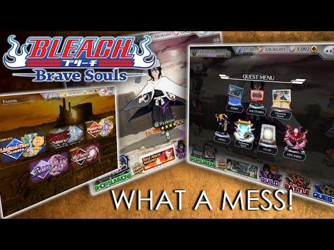 [Bleach Brave Souls] Cowboy Cleans The Menus / UI