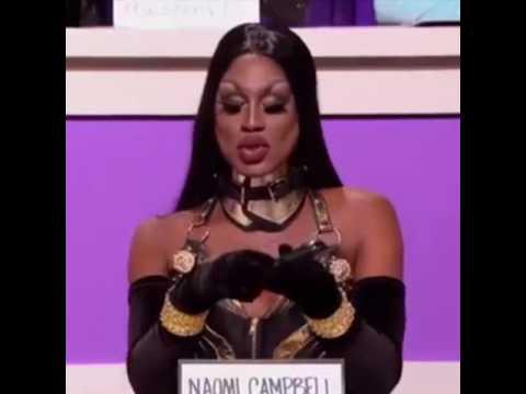 RPDR Season 9 - Snatch Game: Naomi Campbell (Shea Couleé)