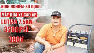 Máy rửa xe LUTIAN CHÍNH HÃNG  7.5kw HOTLINE: 0983.230.230
