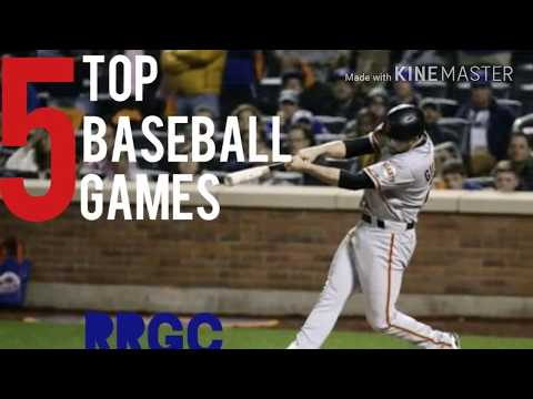 Top 5 Baseball Games For Android & IOS In 2018