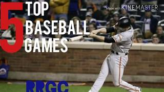 Top 5 Baseball Games for Android & IOS in 2017
