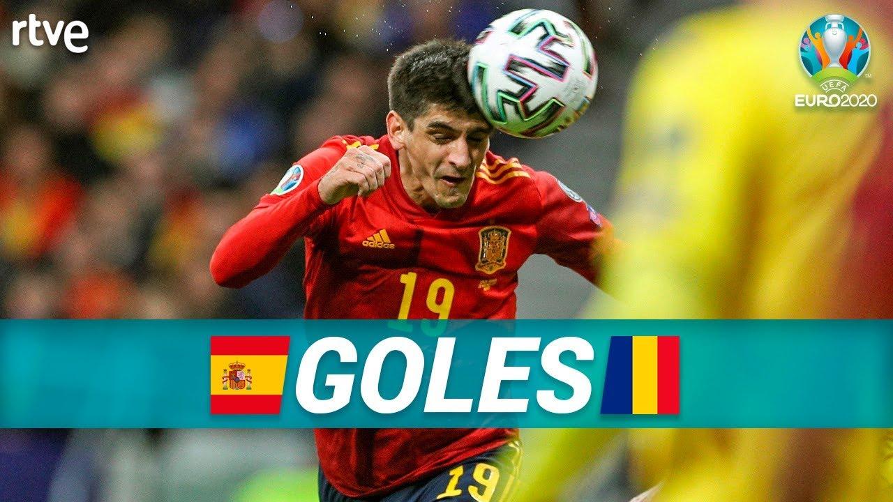 GOLES España 5-0 Rumanía | Clasificatorio Eurocopa 2020