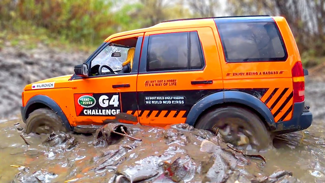 MUD OFF Road Land Rover Discovery G4 Challenge – Wilimovich