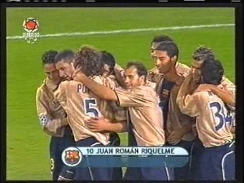 2002 October 29 Club Brugge Belgium 0 Barcelona Spain 1 Champions League