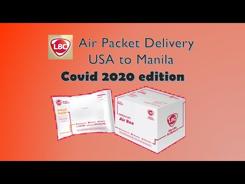 $15 USA to Manila Airmail Delivery Via LBC during COVID. With iPhone & electronics shipping guide.