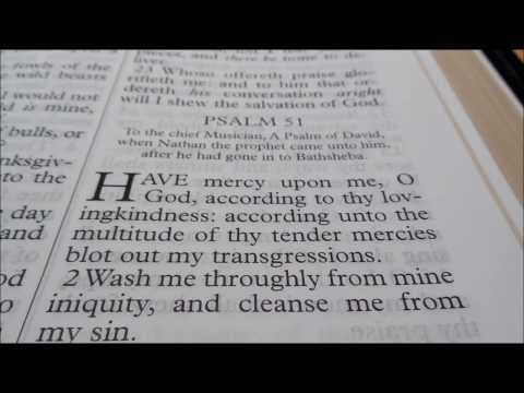 Psalm 51 : Psalm of Repentance