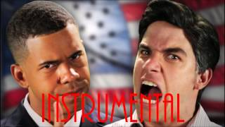 ♪ [Instrumental] Barack Obama vs Mitt Romney ERB Season 2 - INSTRUMENTAL
