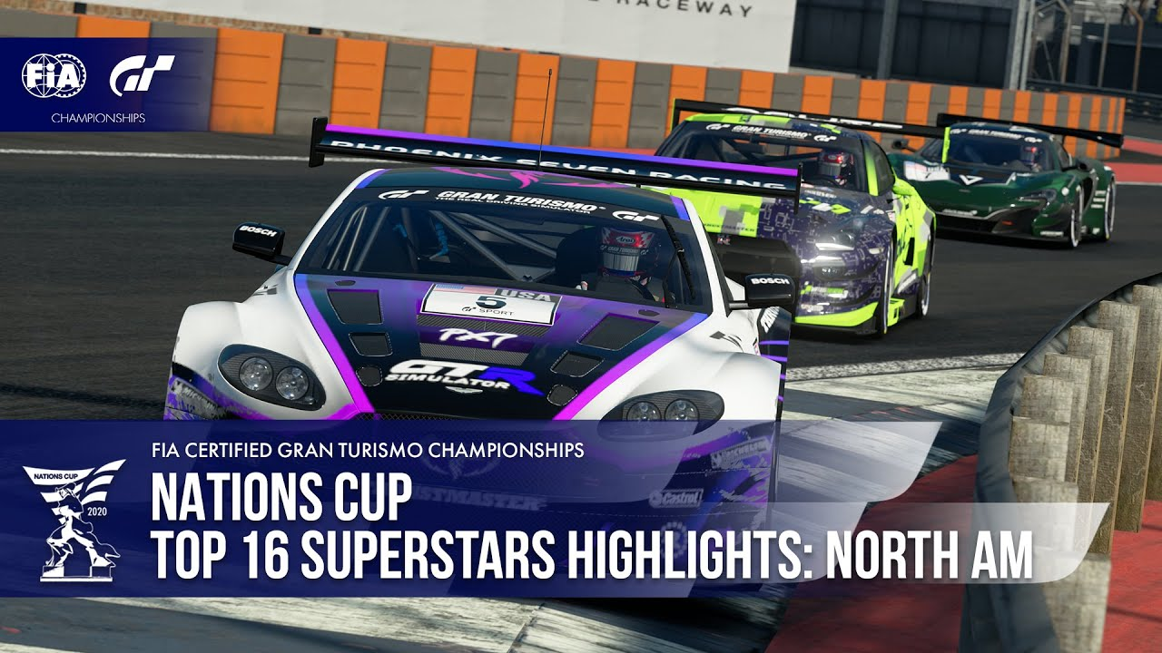 Insane Battle For The Podium! Gran Turismo Sport Top 16 Superstars Highlights