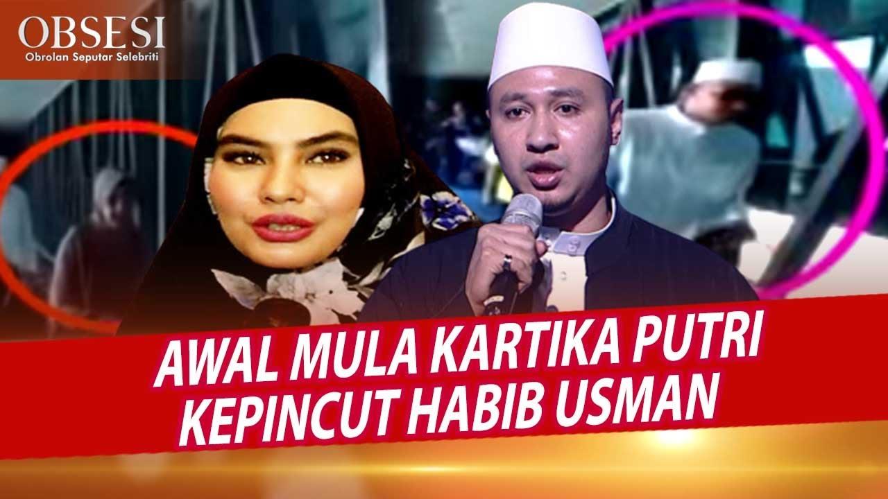 Kartika Putri Dan Habib Usman Salting Saat Melihat Awak Media - OBSESI