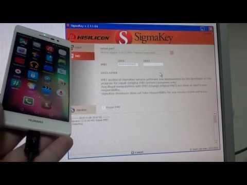 Unlock Huawei Y530 with Sigmakey | FunnyDog TV