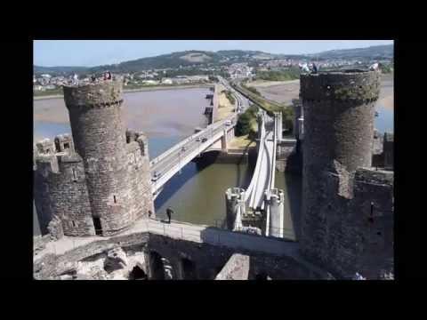 galles 2013 visita castello di Conwy , Conwy Castle,  Conway Castle visit Wales , Menai Bridge