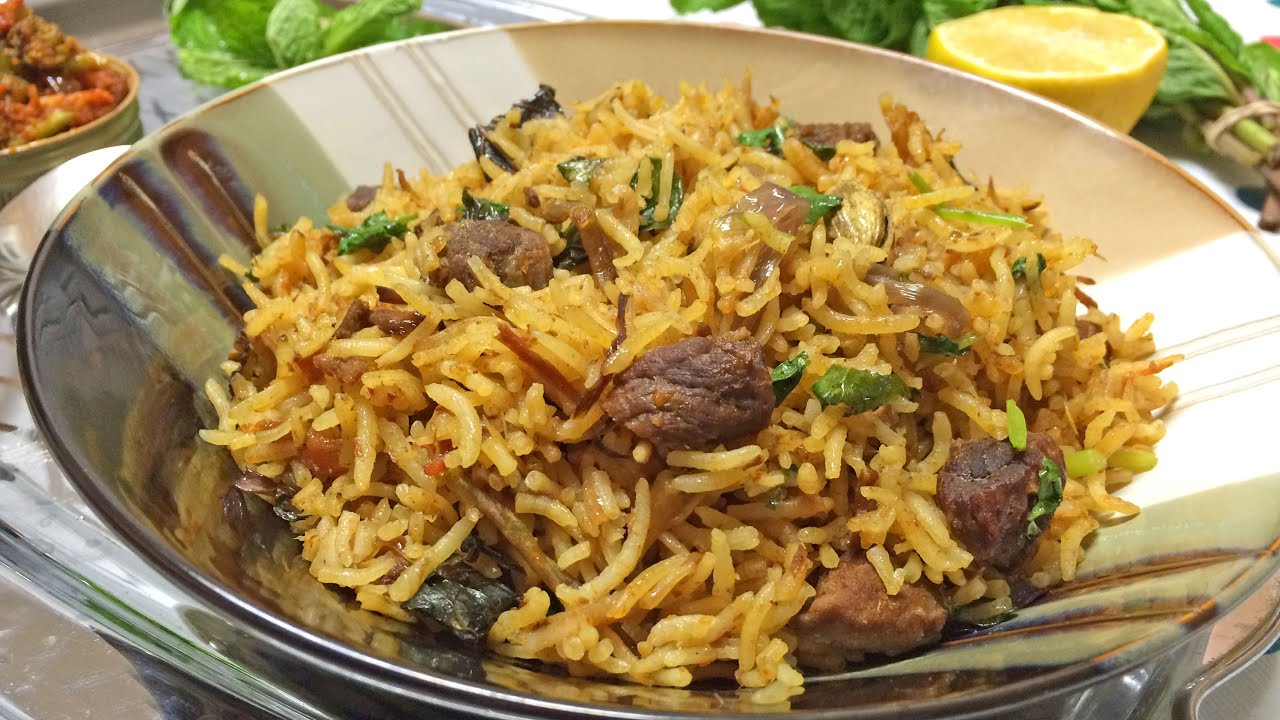 pictures How to Make Beef Biryani