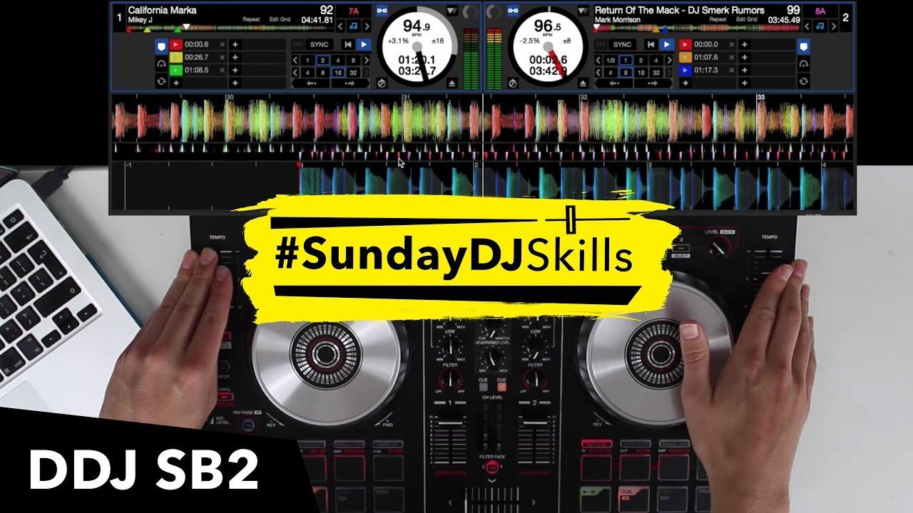 Pioneer DDJ SB2 – Performance Mix – Hip Hop & House – #SundayDJSkills