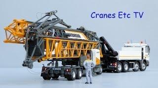 NZG Liebherr 81K Fast Erecting Crane with Transport Vehicle by Cranes Etc TV