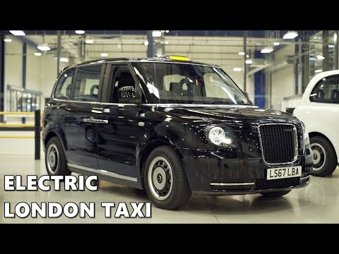 Electric London Taxi (TX eCity) - Build, Walkaround, Features