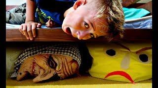 Мама и страхи 😱 Почему все проиграли? ПОДПИСЧИКИ играют ЧЕЛЛЕНДЖ ОТГАДАЙ ПЕСНЮ играем Steppy Pants
