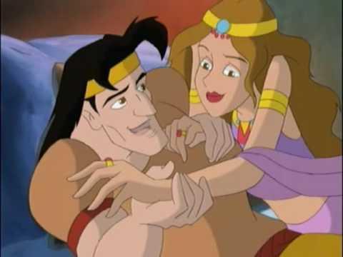 Animated  Samson & Delilah  45