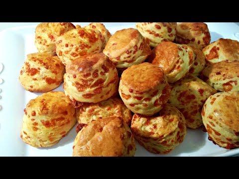 Hungarian Cheese Biscuits (Sajtos Pogacsa) by Helen M. Radics