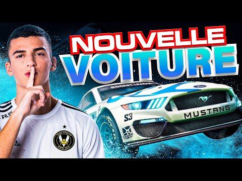 JE TESTE LES NOUVELLES VOITURES DE NASCAR !!