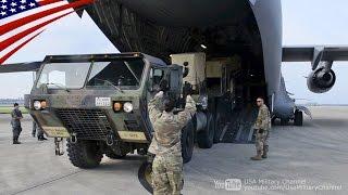自衛隊&米軍の共同ミサイル空輸訓練 - パトリオット・03式中SAM