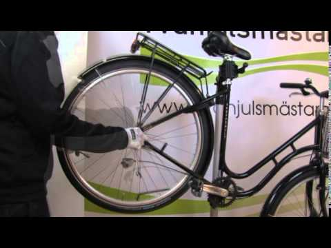 byta bakhjul cykel