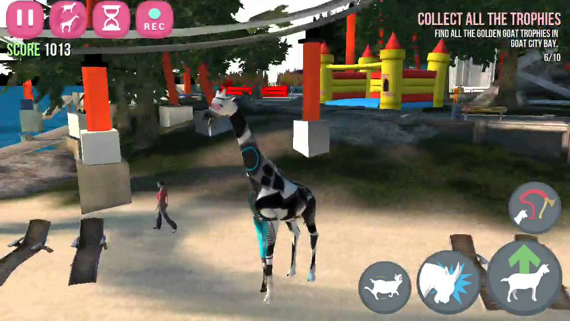 in goat simulator how to get the tornado goat