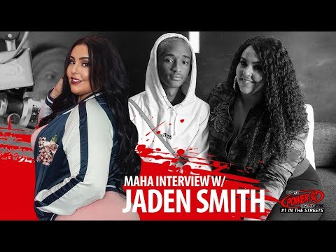 Jaden Smith Talks New Album, New Movie, and MORE with Maha | @Power92chicago