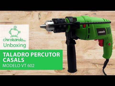 Taladro Percutor Casals 500W Modelo VT 602 / Chiroleando.uy