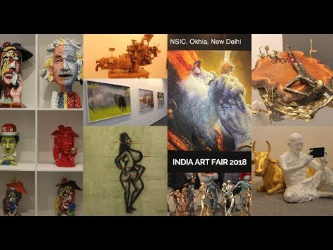 India Art Fair | 2018 | NSIC | Exhibition Complex | New Delhi | India