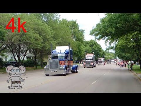 Wheel Jam Truck Parade 2015 (double take) in 4K