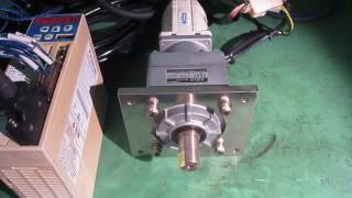 Panasonic MSM022A1E/VRKF-15C-200  AC SERVO MOTOR / reduction gear